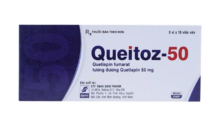 Thuốc Queitoz điều trị bệnh tâm thần phân liệt.