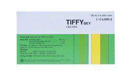 Thuốc Tiffy là thuốc điều trị cảm cúm và các triệu chứng của cảm cúm.