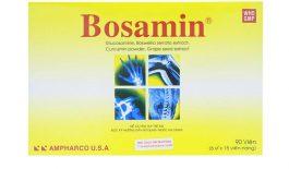 Thuốc Bosamin là thuốc điều trị các bệnh về viêm khớp. Thuốc được bào chế ở dạng viên nang. Người dùng cần đọc kỹ hướng dẫn sử dụng trước khi dùng thuốc.