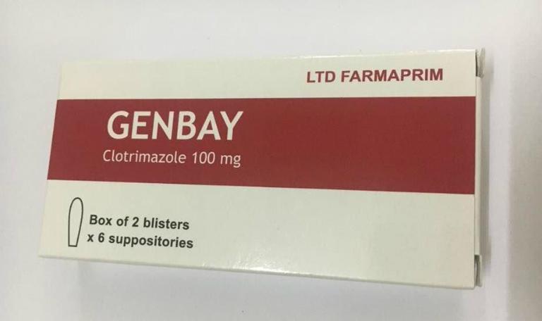 Thuốc Genbay là một loại thuốc dùng để đặt âm đạo, điều trị bệnh phụ khoa.