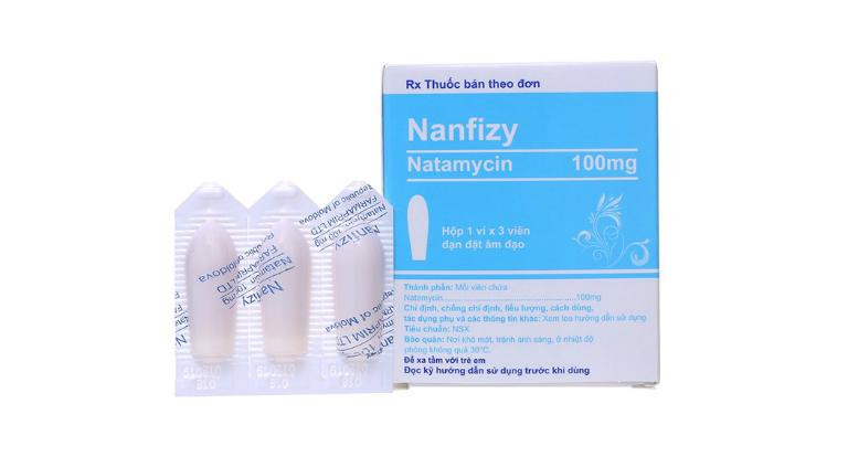 Thuốc Nanfizy là thuốc dùng để đặt âm đạo, có tác dụng trị bệnh phụ khoa.