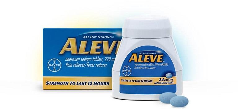 Tìm hiểu về công dụng, cách sử dụng của thuốc giảm đau Aleve