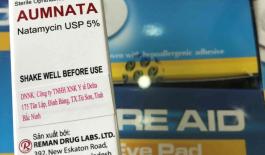 Thuốc Aumanta dùng cho mắt