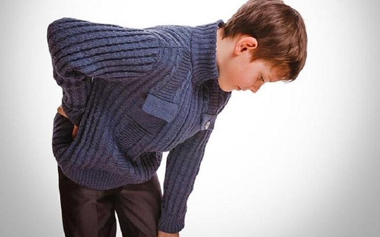 Bệnh đau lưng ở trẻ em