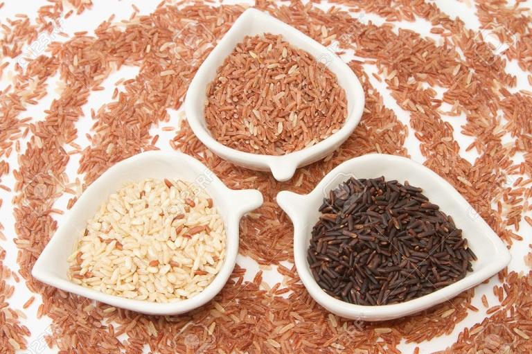 Một số loại gạo lứt hiện nay