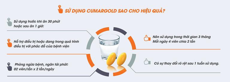 Hướng dẫn sử dụng Cumargold hiệu quả