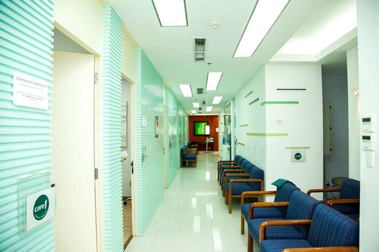 Cơ sở vật chất phòng khám Care 1 - Nguyễn Hữu Cảnh