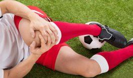Đau đầu gối khi chơi thế thao