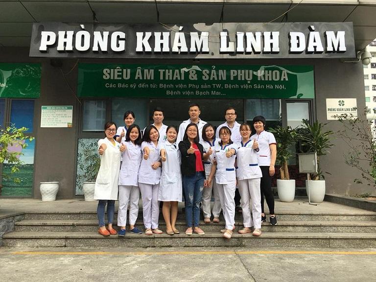 Đội ngũ nhân sự tại phòng khám Linh Đàm