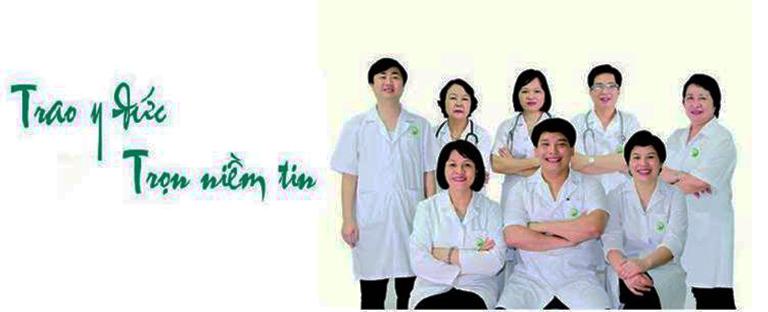 Đội ngũ bác sĩ công tác và làm việc tại phòng khám đa khoa Elise