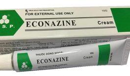 Thuốc bôi ngoài da Econazine có tác dụng chống viêm, diệt nấm, diệt vi khuẩn
