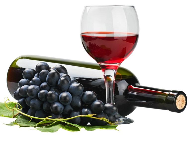 Rượu được làm từ nho