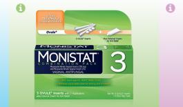 Thuốc Monistat điều trị viêm nhiễm phụ khoa