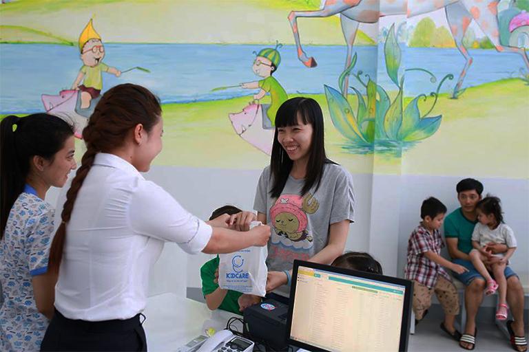 Các dịch vụ khám chữa bệnh tại phòng khám Nhi đồng Kid Care