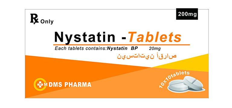 thuốc đặt nystatin