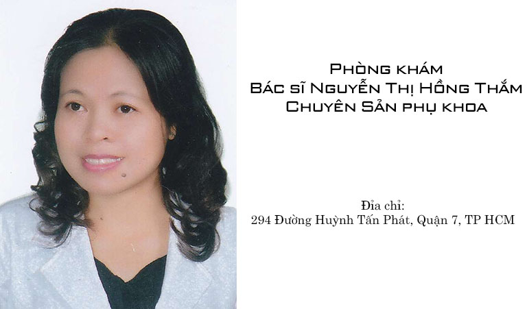 Phòng khám Bác sĩ Nguyễn Thị Hồng Thắm