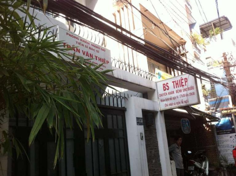 Phòng khám TS. BS Trần Văn Thiệp - Chuyên khoa Ung Bướu