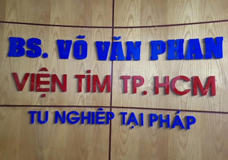 Phòng khám Bác sĩ Võ Văn Phan - Viện tim mạch