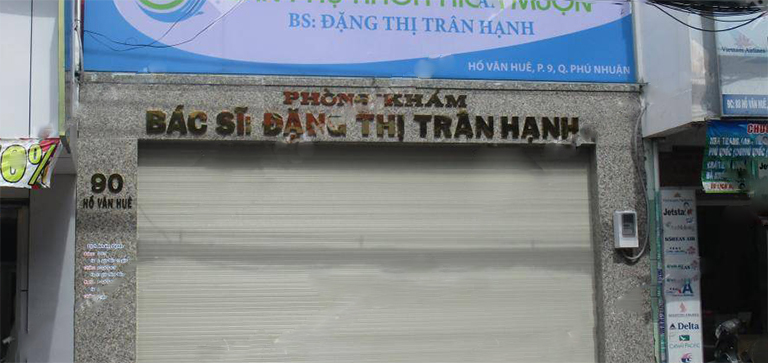 Phòng khám Sản phụ khoa - Bác sĩ Đặng Thị Trân Hạnh Quận Phú Nhuận, TP.HCM