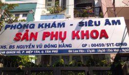 Những thông tin về phòng khám chuyển Sản phụ khoa - Bác sĩ Nguyễn Vũ Minh Hằng