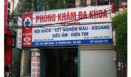 Phòng khám tọa lạc tại 162 - 164 Lĩnh Nam, phường Vĩnh Hưng, quận Hoàng Mai, Hà Nội