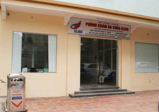 Phòng khám đa khoa Elise quận Thanh Xuân, Hà Nội