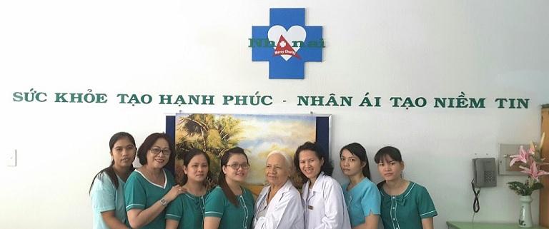 Đội ngũ bác sĩ tại phòng khám Đa khoa Nhân Ái - Quận Bình Thạnh