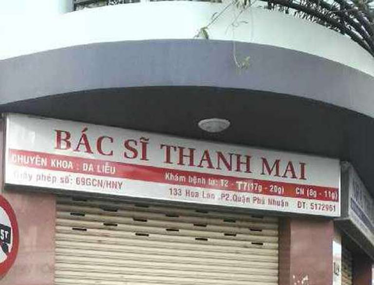 Phòng khám Da liễu Bác sĩ Trần Thị Thanh Mai
