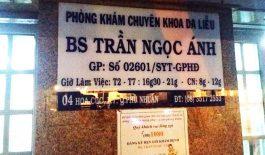 Phòng khám bác sĩ Trần Ngọc Ánh chuyên khoa da liễu