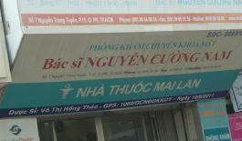 Phòng khám Mắt Bác sĩ Nguyễn Cường Nam - Hồ Chí Minh