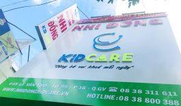 Phòng khám Nhi đồng Kid Care hiện có 3 chi nhánh tại TP.HCM