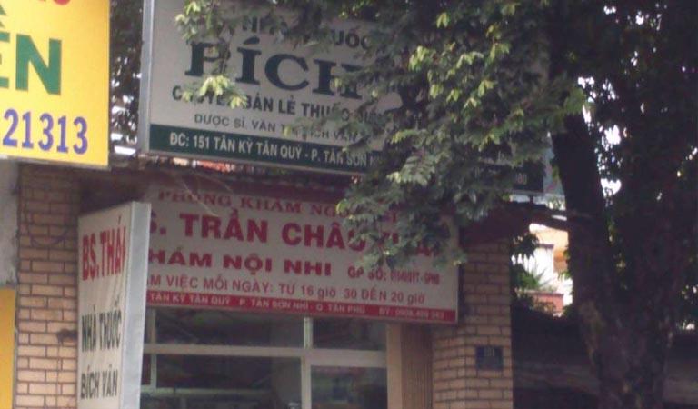 phòng khám Nội Nhi bác sĩ Trần Châu Thái