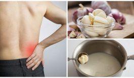Sữa tỏi chữa trị bệnh đau thần kinh tọa hiệu quả