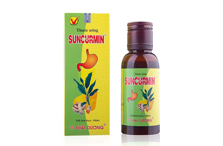 thuốc suncurmin dạng nước