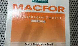Thuốc Macfor 3000mg điều trị các bệnh lý về đường tiêu hóa