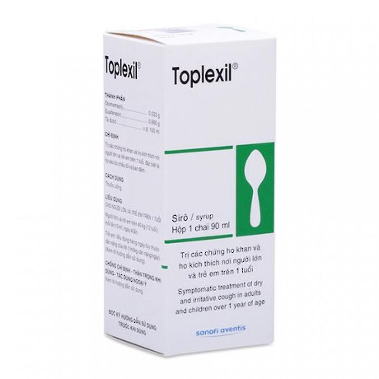 Thuốc Toplexil syrup và cách sử dụng