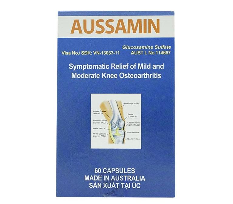 Thuốc Aussamin được sản xuất tại Úc