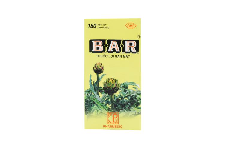 Thuốc Bar giải độc gan, điều trị viêm gan, mụn nhọt, mề đay,...