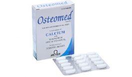 Thuốc bổ sung canxi Osteomed một hộp 2 vỉ x 15 viên