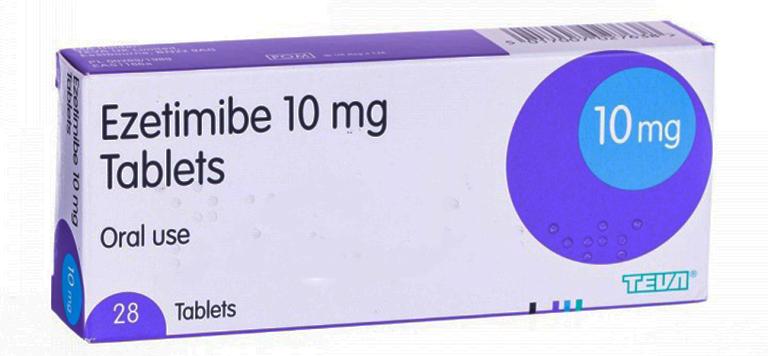 Thuốc Ezetimibe có tác dụng làm hàm lượng cholesterol cơ thể hấp thụ được