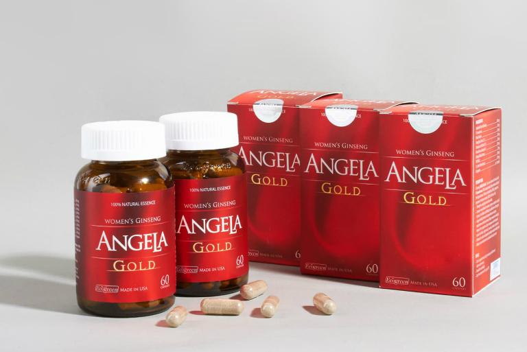 Sâm Angela Gold giúp tăng cường sinh lý ở nữ, đánh thức ham muốn yêu, làm đẹp da, điều trị khô âm đạo,...