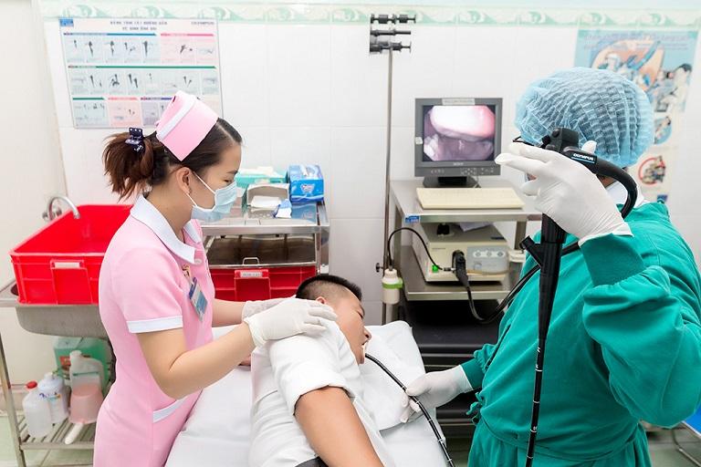 Phòng nội soi dạ dày ở  Phòng khám Đa khoa Khu công nghiệp Tân Bình