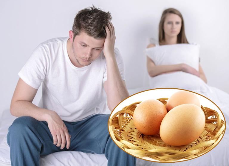 Trứng gà có tốt cho sinh lý nam giới không?
