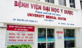 Bệnh viện Đại học Y dược TP. HCM cơ sở 2 tọa lạc tại quận 5, TP. HCM.
