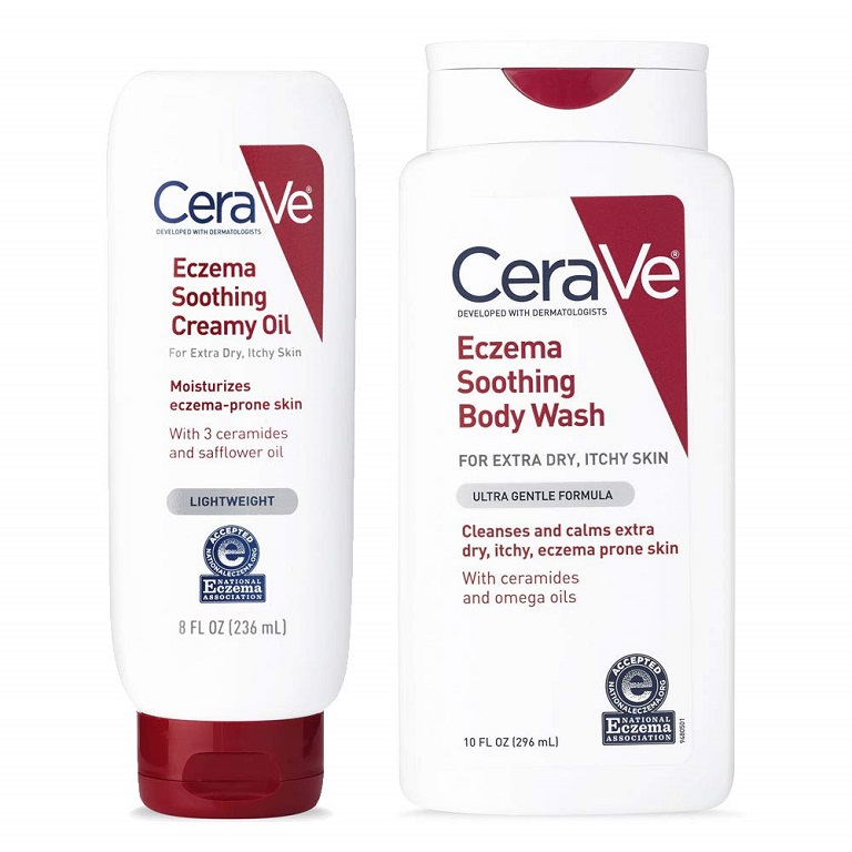 Kem CeraVe Eczema Soothing Creamy Oil