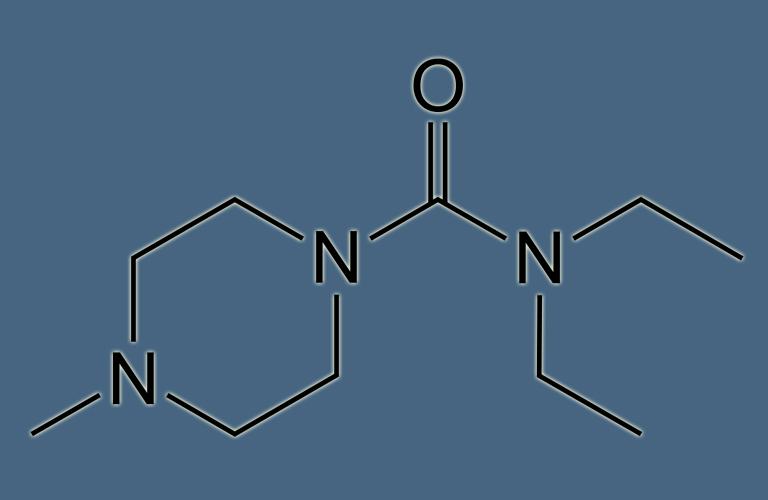 Thuốc Diethylcarbamazine
