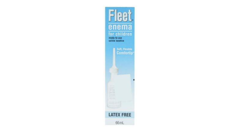 Thuốc Fleet enema có loại dành cho trẻ em, tuy nhiên không dùng cho trẻ dưới 2 tuổi.