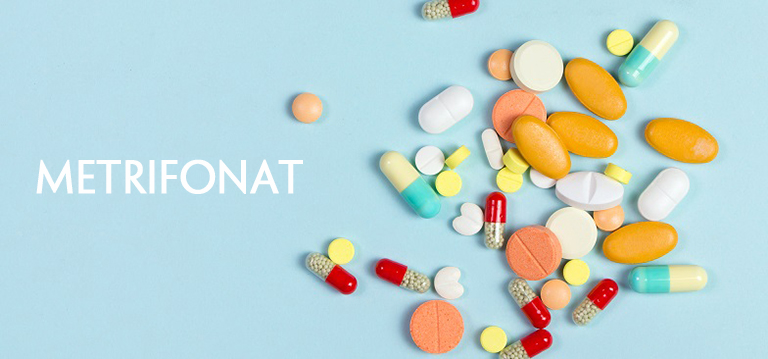 thuốc metrifonat