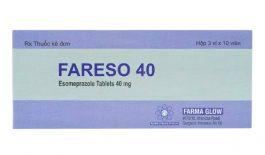 Thuốc Fareso là thuốc điều trị bệnh trào ngược dạ dày - thực quản, loét dạ dày - tá tràng,...