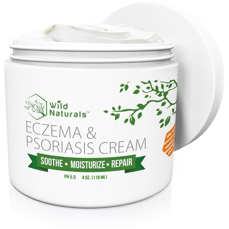 Kem Wild Naturals Eczema and Psoriasis trị chàm sữa hiệu quả